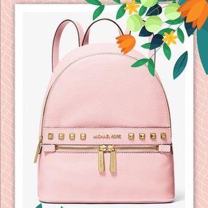 NWT Michael Kors Kenly Pink Medium Backpack